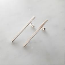 Straight Bar Earrings
