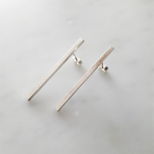 Straight Bar Earrings