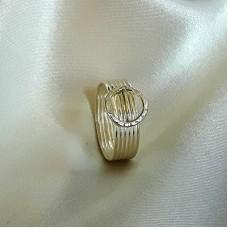 Hammered Circles Ring