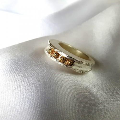 Golden Balls Ring