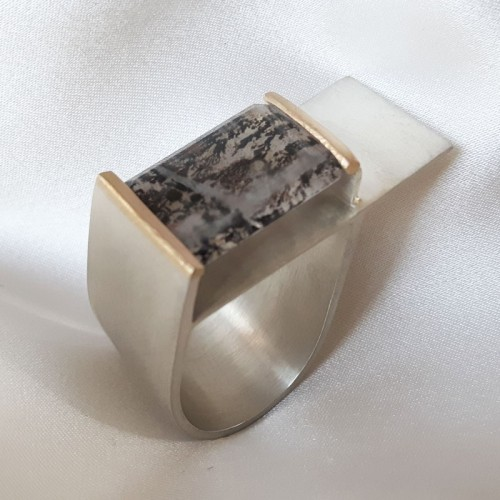 Architectural Lines Ring