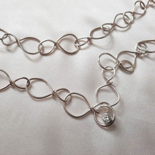 Figure of Eight Necklace